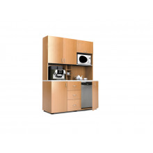 Мини-кухня, 1500x600x2040(850)мм, ФМК06