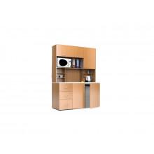 Мини-кухня, 1500x600x2040(850)мм, ФМК07