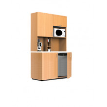 Мини-кухня, 1200x600x2040(850)мм, ФМК05