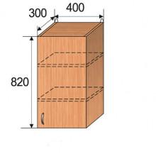 Шкаф кухонный подвесной, 400x300x820мм, ФКУХ11