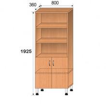 Шкаф лабораторный, 800x360x1925мм, ФШЛ02