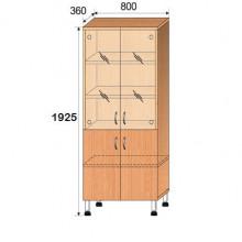 Шкаф лабораторный, 800x360x1925мм, ФШЛ03