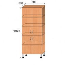 Шкаф лабораторный, 800x360x1925мм, ФШЛ04
