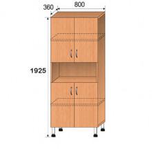 Шкаф лабораторный, 800x360x1925мм, ФШЛ05