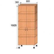 Шкаф лабораторный, 800x360x1925мм, ФШЛ06
