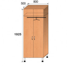Шкаф лабораторный, 800x500x1925мм, ФШЛ09