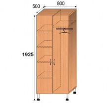 Шкаф лабораторный, 800x500x1925мм, ФШЛ10
