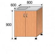 Мойка лабораторная накладная, 800x600x900мм, ФМЛ01