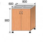 Мойка лабораторная накладная, 800x600x900мм, ФМЛ02