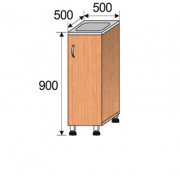 Мойка лабораторная накладная, 500x500x900мм, ФМЛ03