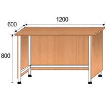 Стол лабораторный, 1200x600x800мм, ФСЛ08