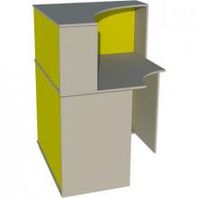 Угловой модуль-ресепшн , 900x900x1200мм, ФРС05