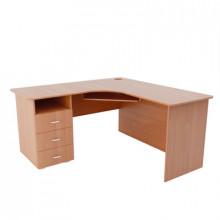 Компьютерный стол угловой, (1500+1500)х600х750 мм, ФСКУ03