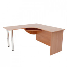 Компьютерный стол угловой, (1500+1500)х600х750 мм, ФСКУ04