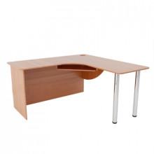 Компьютерный стол угловой, (1500+1500)х600х750 мм, ФСКУ05