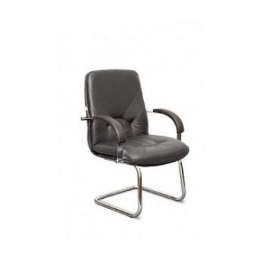 Конференц-стул высокий Комо МЛТ/ХР/О, кож/зам Z-01