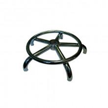 Крестовина хром с кольцом 40 см