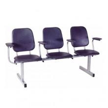 Секция стульев 3-х местная, 185,5x58x95 см, М114