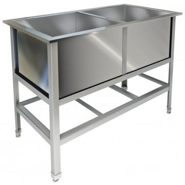 Ванна моечная сварная, нерж. сталь AISI 430, ВМ-22