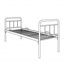 Кровать металлическая одноярусная, 3.1