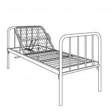 Кровать металлическая одноярусная, 3