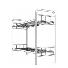 Кровать металлическая двухъярусная, КВ 2.9