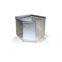 Стол-тумба угловой из н.с., 920x920x850мм, ВСПС-224-9У