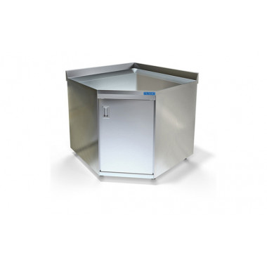 Стол-тумба угловой из н.с., 1020x1020x850мм, ВСПС-224-10У
