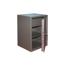 Офисный сейф, 43x37,5x62 см, КМ-620т