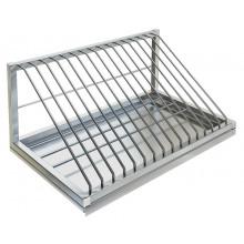 Полка настенная для досок и крышек, сталь AISI 304, ВПН-315
