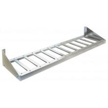 Полка настенная решетчатая узкая, сталь AISI 304, ВПН-213