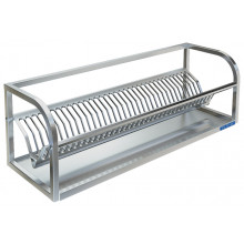 Полка настенная для сушки посуды, сталь AISI 304, ВПН-319Б