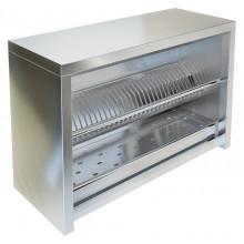 Полка-шкаф настенная для сушки посуды открытая, сталь AISI 304, ВПН-321