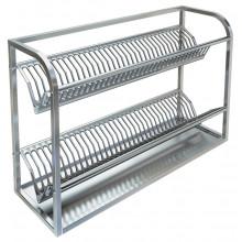 Полка настенная для сушки посуды, сталь AISI 304, ВПН-329Б