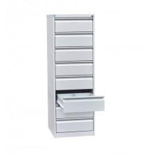 Картотечный шкаф, 52,5x58,5x155 см, ШК-8