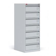 Картотечный шкаф, 52,5x58,5x137 см, ШК-7