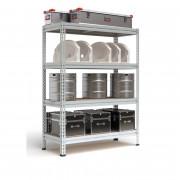 Металлический стеллаж с нагрузкой на секцию до 2200 кг