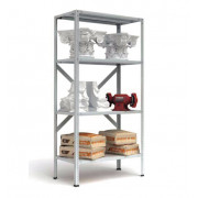 Металлический стеллаж с нагрузкой на секцию до 900 кг
