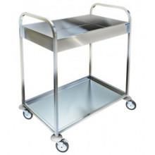 Тележка для сервировки и сбора посуды, ВП-221, 800x500x930