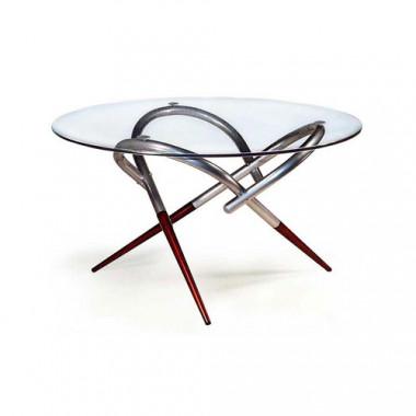 Журнальный стол, d=85x52,5 см, Дельта-3н