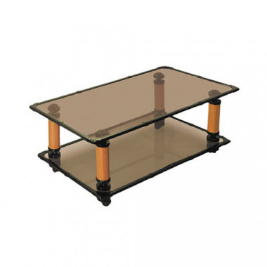 Журнальный стол на колесах, 51,5x101,5x37 см, Квадро-4