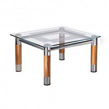 Журнальный стол, 75x75x44 см, Рекорд-2