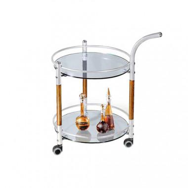 Сервировочный стол с ручкой, d=49x81 см, С-4