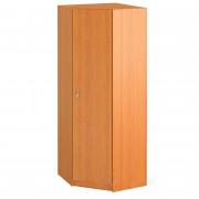Шкаф гардеробный угловой закрытый 80x80x196 см, ПШ-13 + ПДШ-04/07У