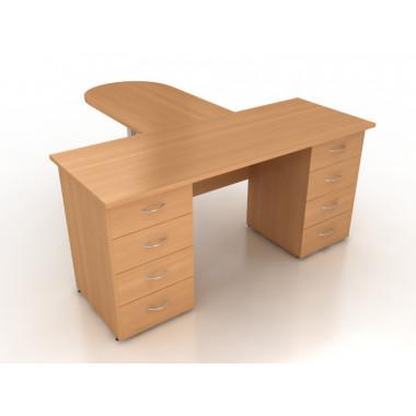 Компоновка офисной мебели №3