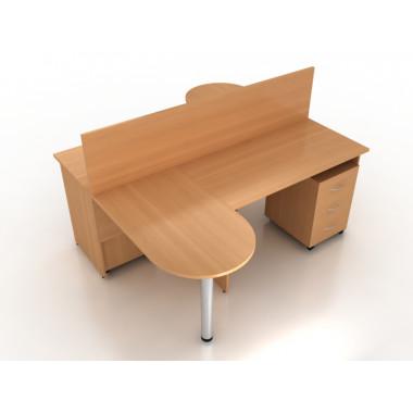 Компоновка офисной мебели №4