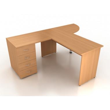 Компоновка офисной мебели №5