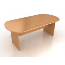 Конференц-стол овальный, 180x90x75 см, ПОКС-09/18