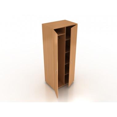 Шкаф гардеробный комби, 80x55x196 см, ПШ-10