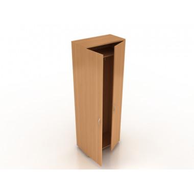 Шкаф гардеробный с трамбоном глубокий, 70x55x183 см,ПЛТ Ш-07 + ПЛТ ДШ-01/02